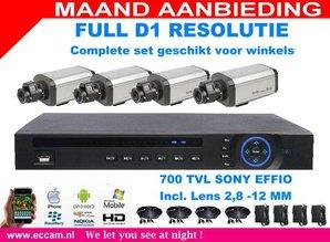 Sony Camera Winkel set compleet