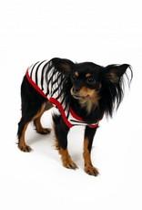 Honden T-Shirt Stripes/Red