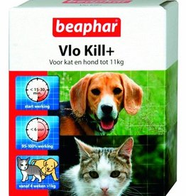 Vlo Kill, hond en kat tot 11 kg.