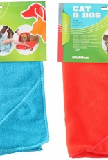 Handdoek voor hond of kat.