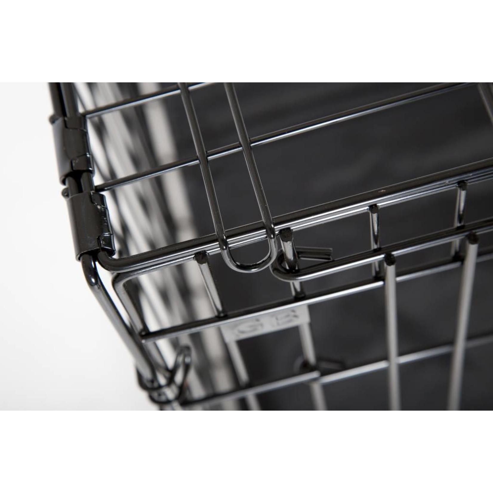 Bench Black Premium 91 cm. Incl. kussen, verkleiner én rubber voetjes