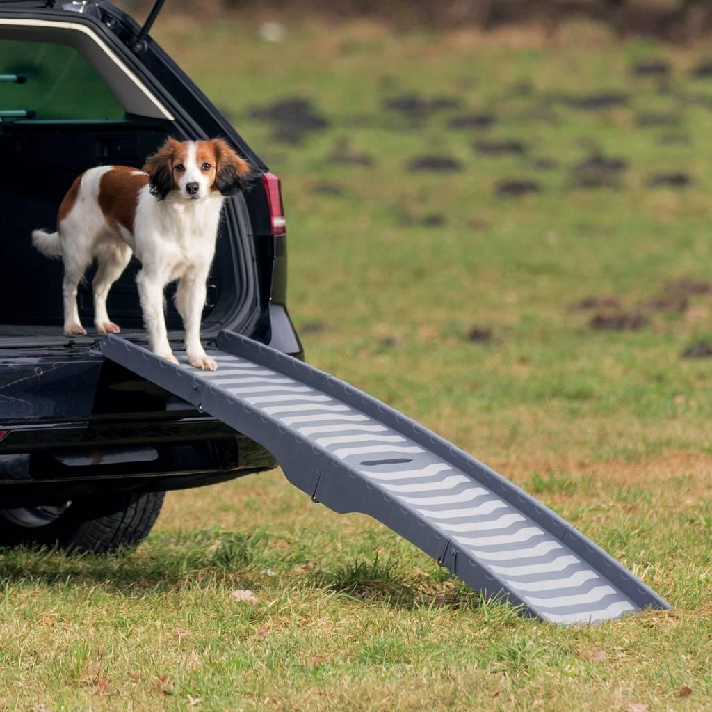 Hondenloopplank, drievoudig inklapbaar