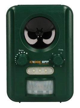 Knock Off Solar Garden Animal Repeller