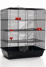 Rattenkooi Remy zwart