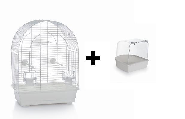Vogelkooi Lucie  wit