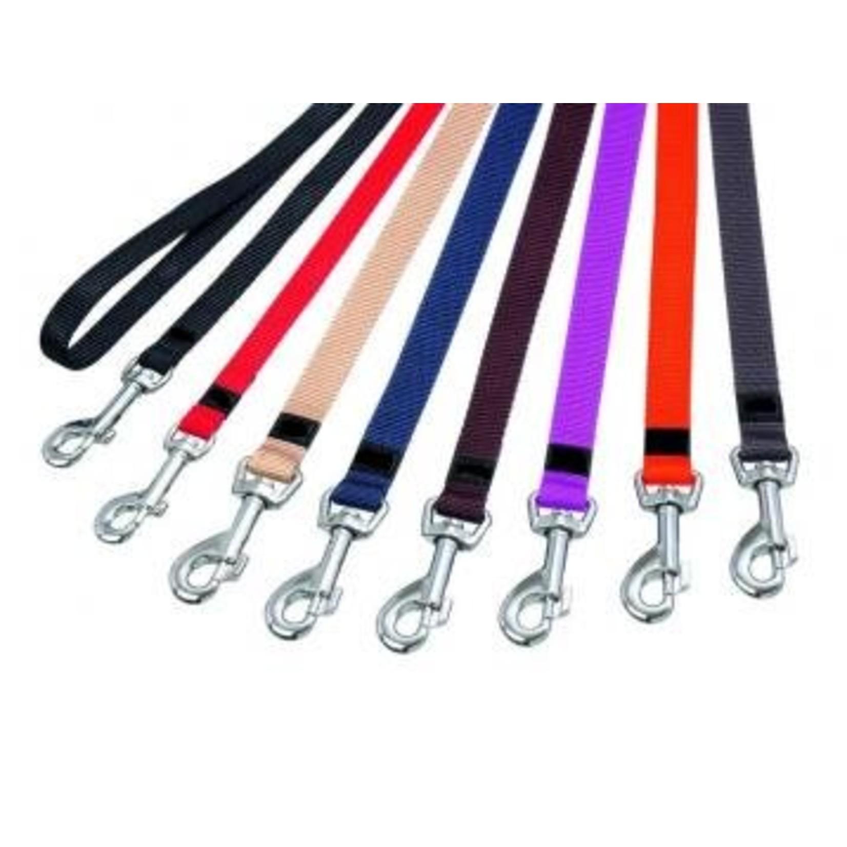 Looplijn nylon 100 cm. In 5 kleuren en 4 maten