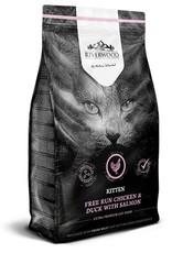 Riverwood Kitten, Kip & Eend met Zalm. 2 kg.