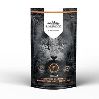 Riverwood Derma, Schotse Zalm & Witvis met Haring. 300 gram