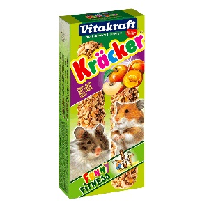 Vitakraft Hamsterckrackers, 2 stuks. Fruit. Vitakraft