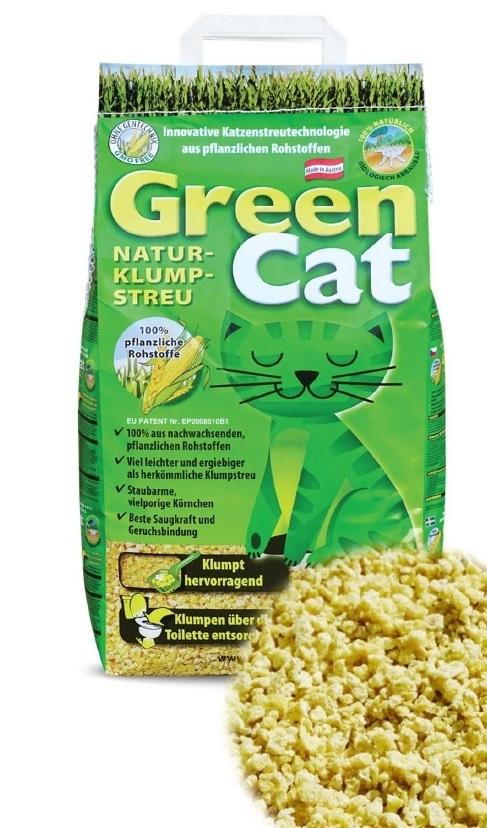 GreenCat mais, kattenbakvulling. 12 liter.