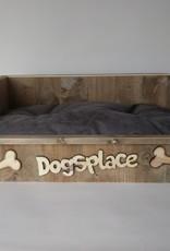 Hondenbank Dogsplace, incl. kussen