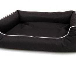 Hondenmand Canvas zwart