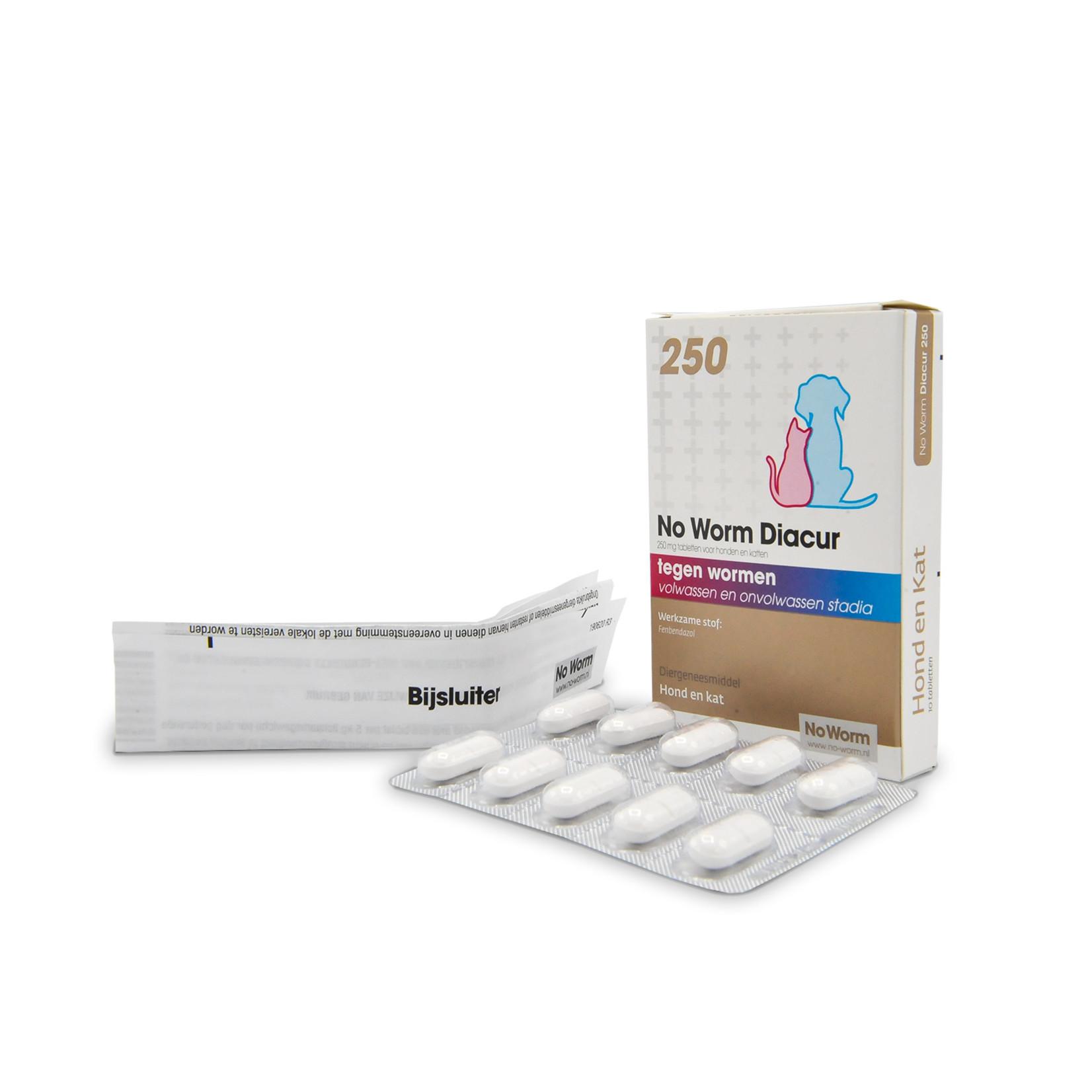 Met No Worm Diacur 250