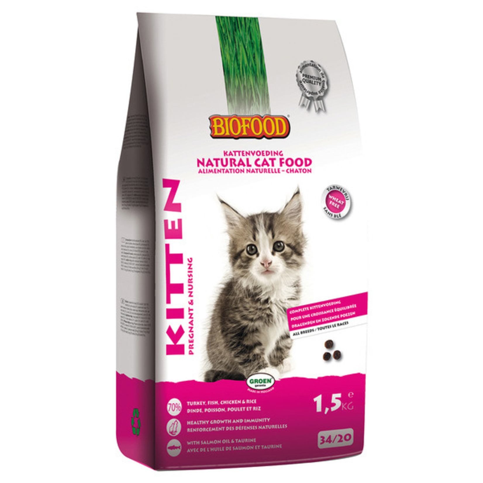 Biofood Kitten 1,5 kg