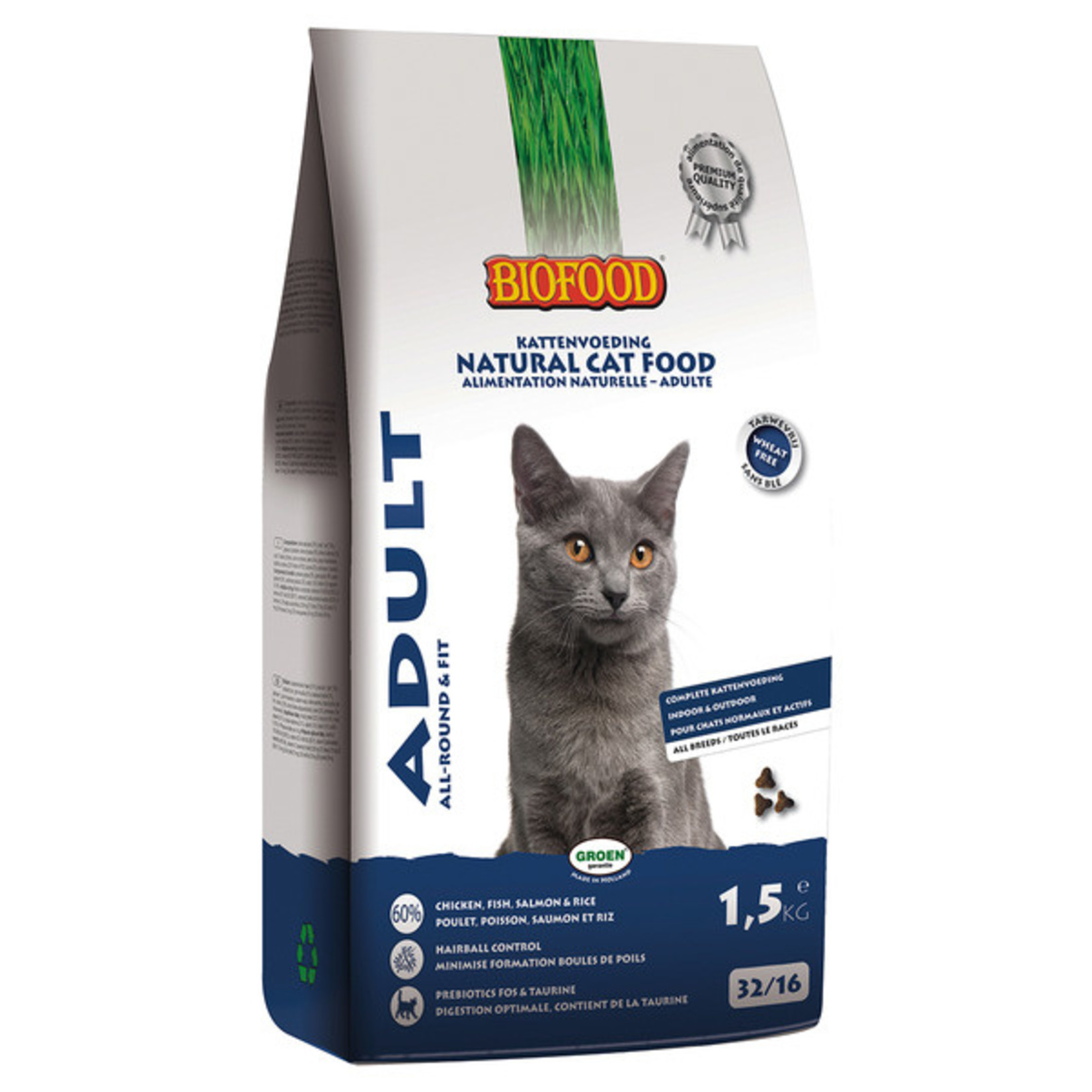 Biofood Cat Adult 1,5 kg