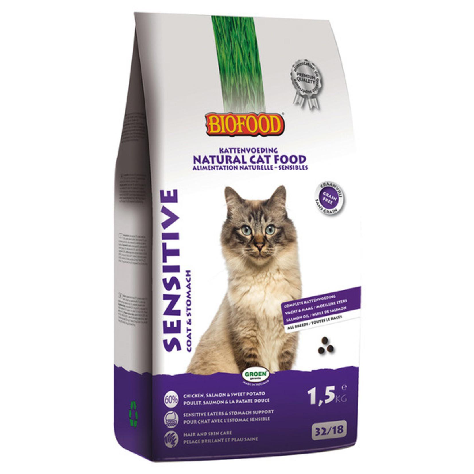 Biofood Cat Sensitive 1,5 kg