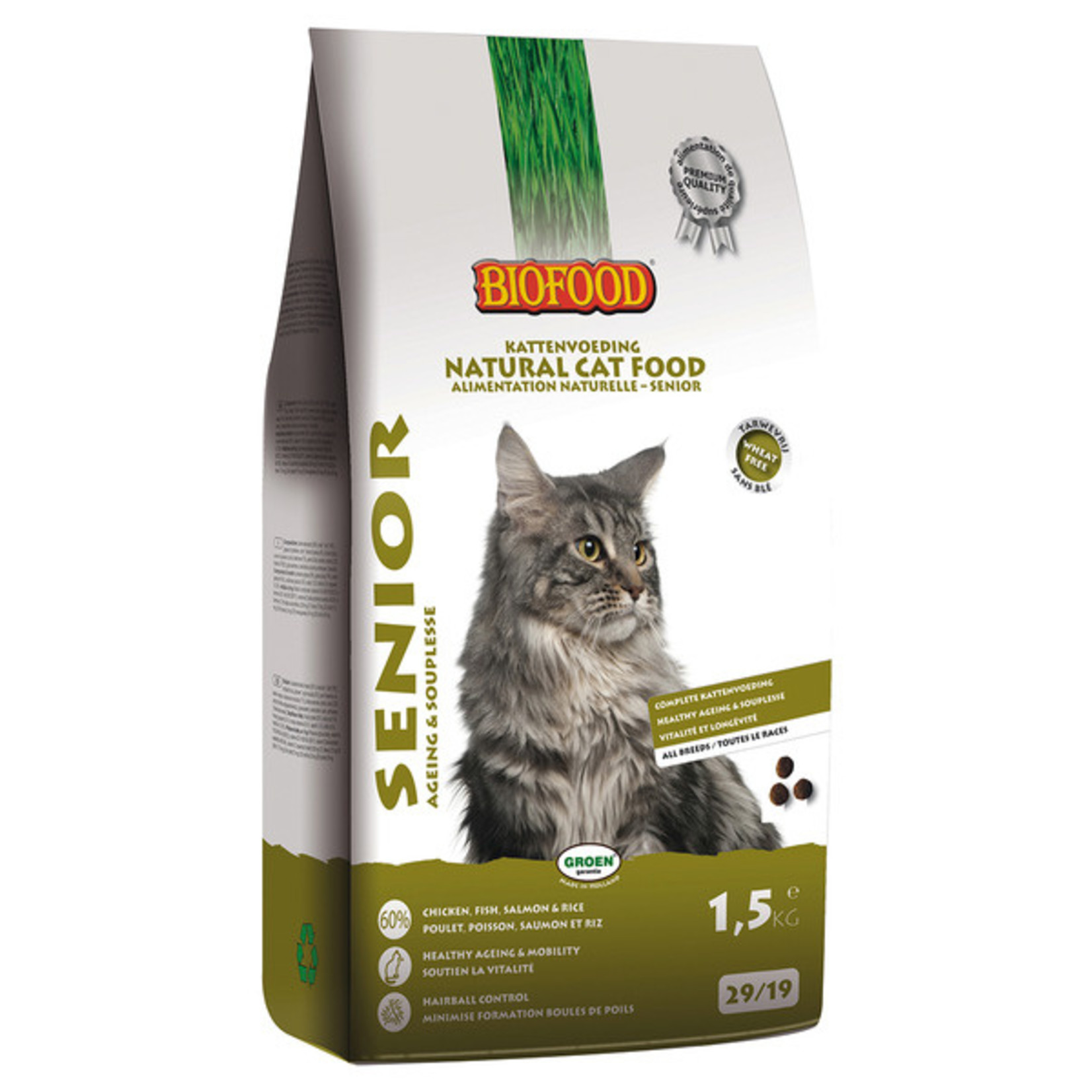 Biofood Cat Senior 1,5 kg