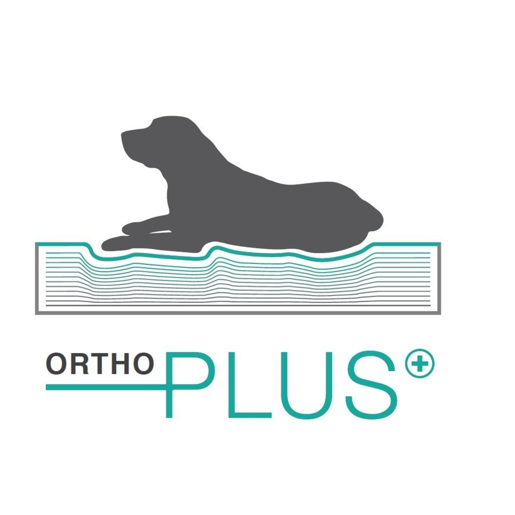 Orthopedisch hondenmand Paula Zwart 120 cm