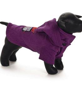 Hondensweater Hoodie Dog paars 42 cm