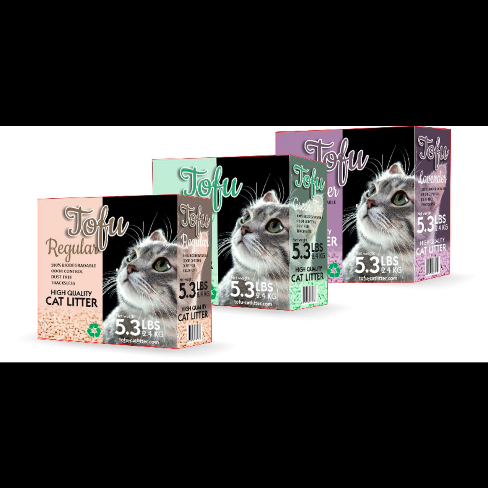 Tofu kattenbakvulling. 100% biologisch afbreekbaar