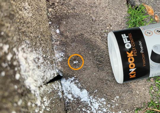 Knock Off insectenpoeder 250 gram