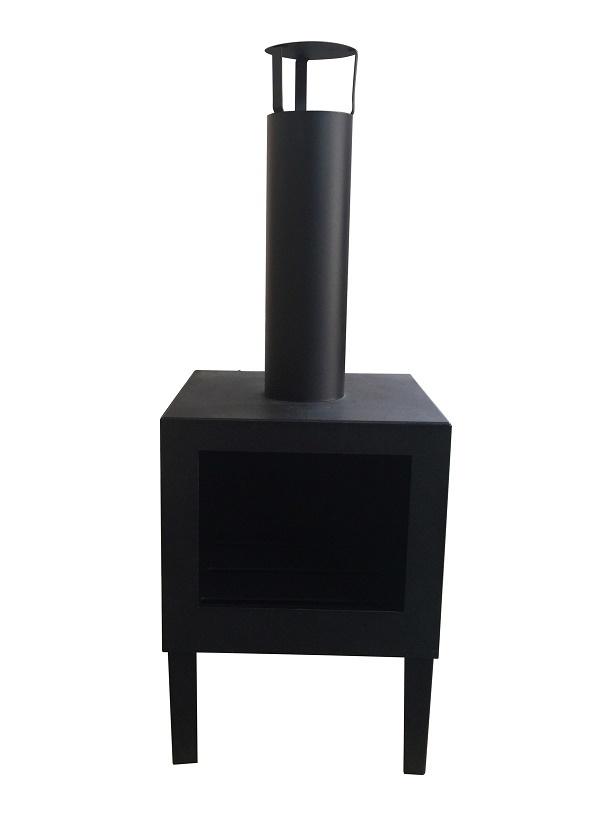 Terrashaard Dave zwart 38x32x100 cm