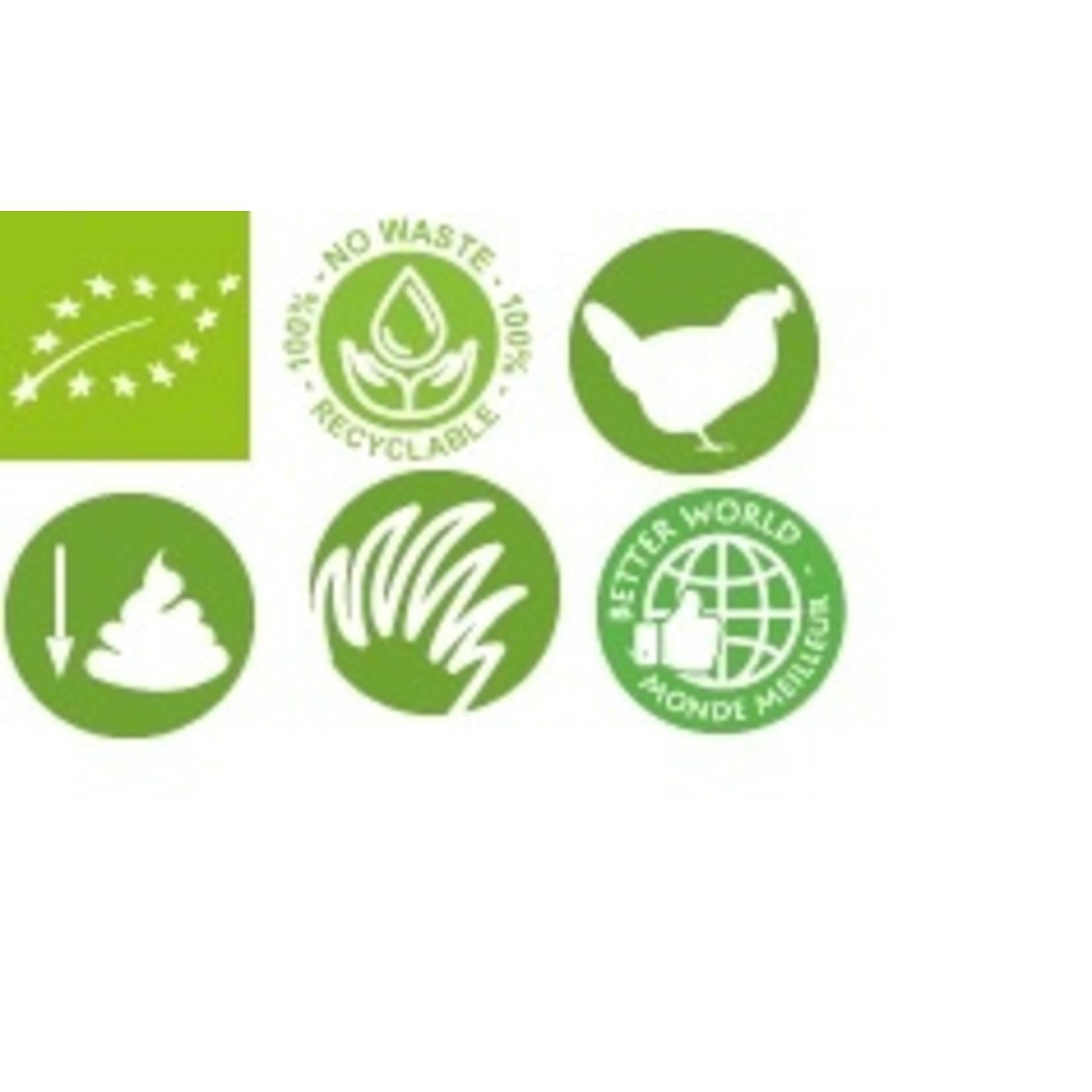 Biofood. Biologisch geperste brokken