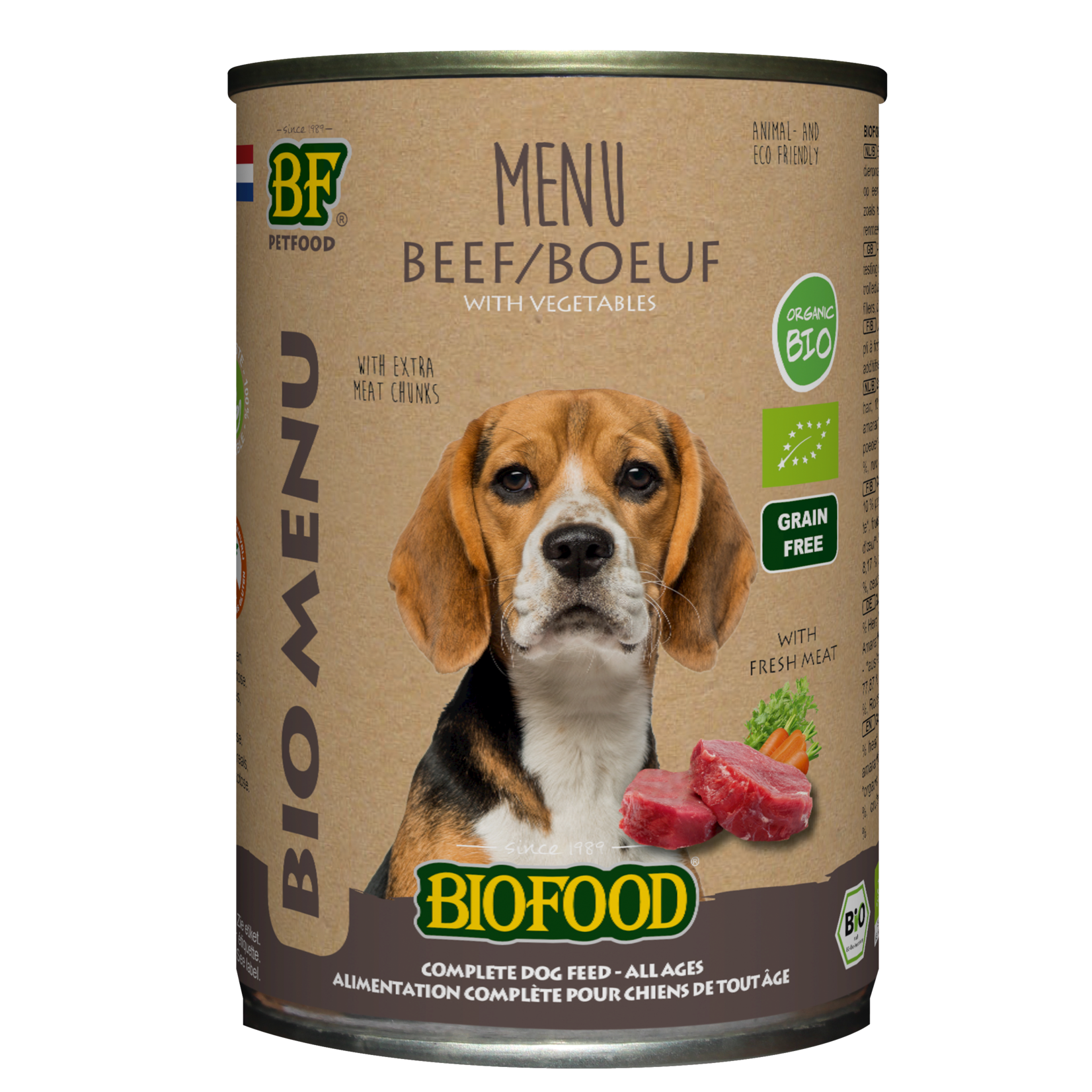 Biofood, Bio Rund Menu
