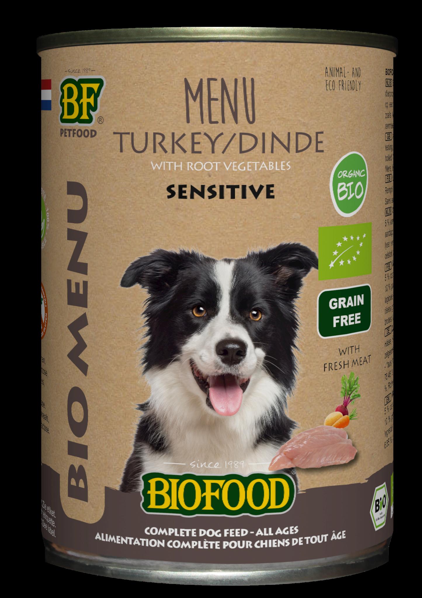 Biofood, Bio Kalkoen Menu