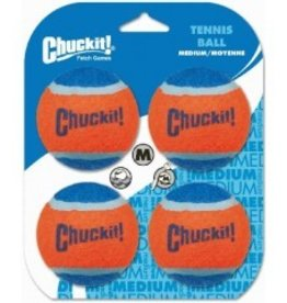 Chuckit Chuckit Tennisball medium. 4 pack