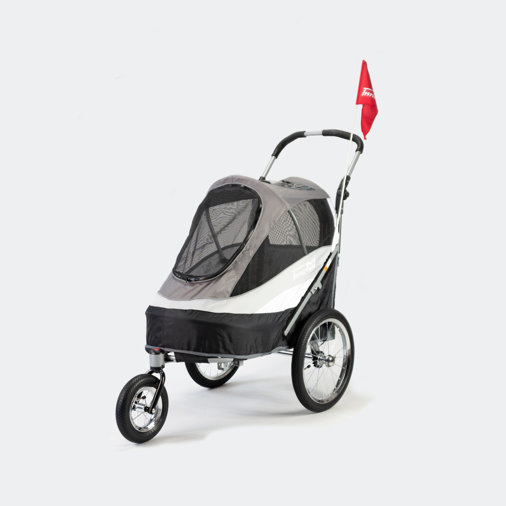 InnoPet Sporty Dog Trailer Deluxe. Buggy en fietskar in één.
