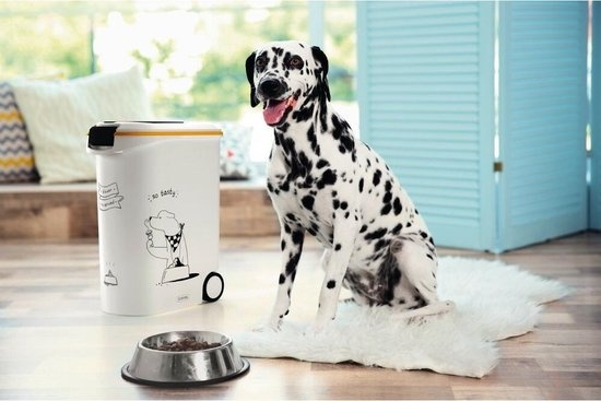 Curver Voedselcontainer Hond. Wit - 23L - 10kg