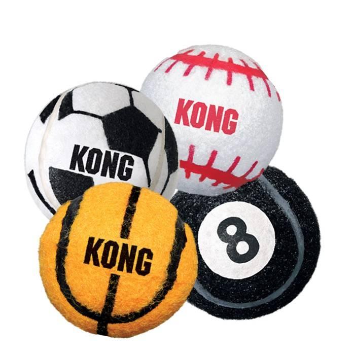 Kong Kong Sport Balls. M. 3 pack