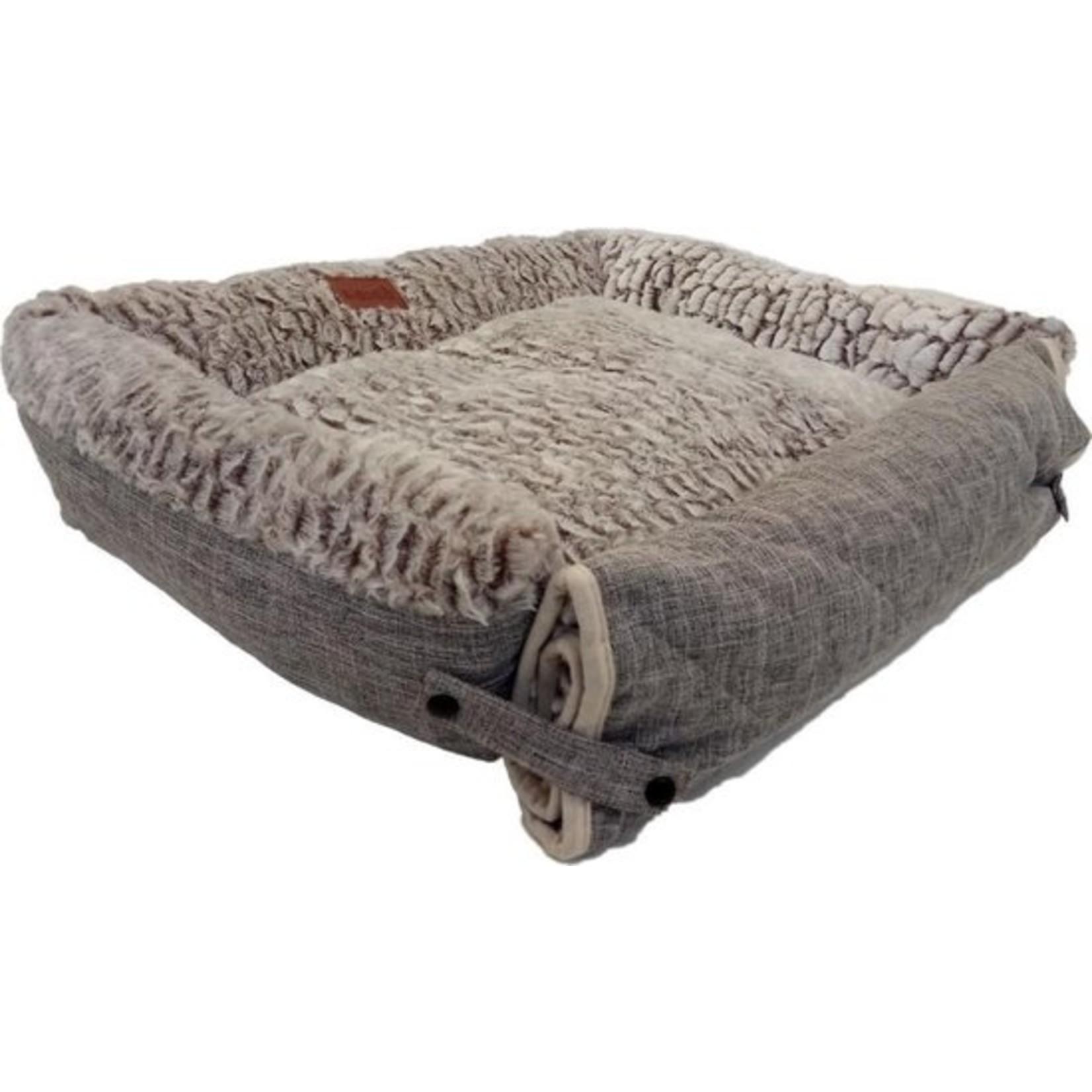 Hondenmand I-Cigo grijs 70x60 cm