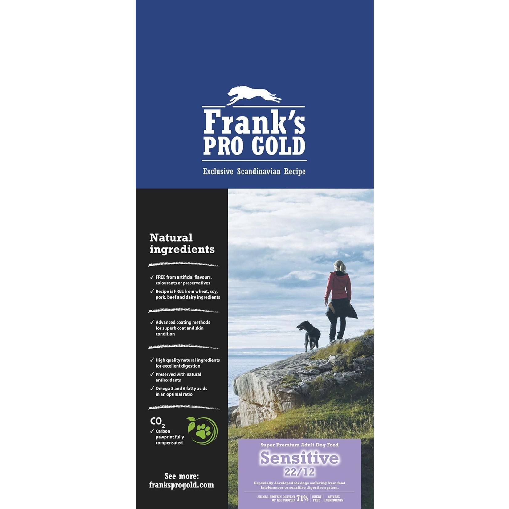 Franks Pro Gold Franks Pro Gold Sensitive 15 kg. GEEN VERZENDKOSTEN
