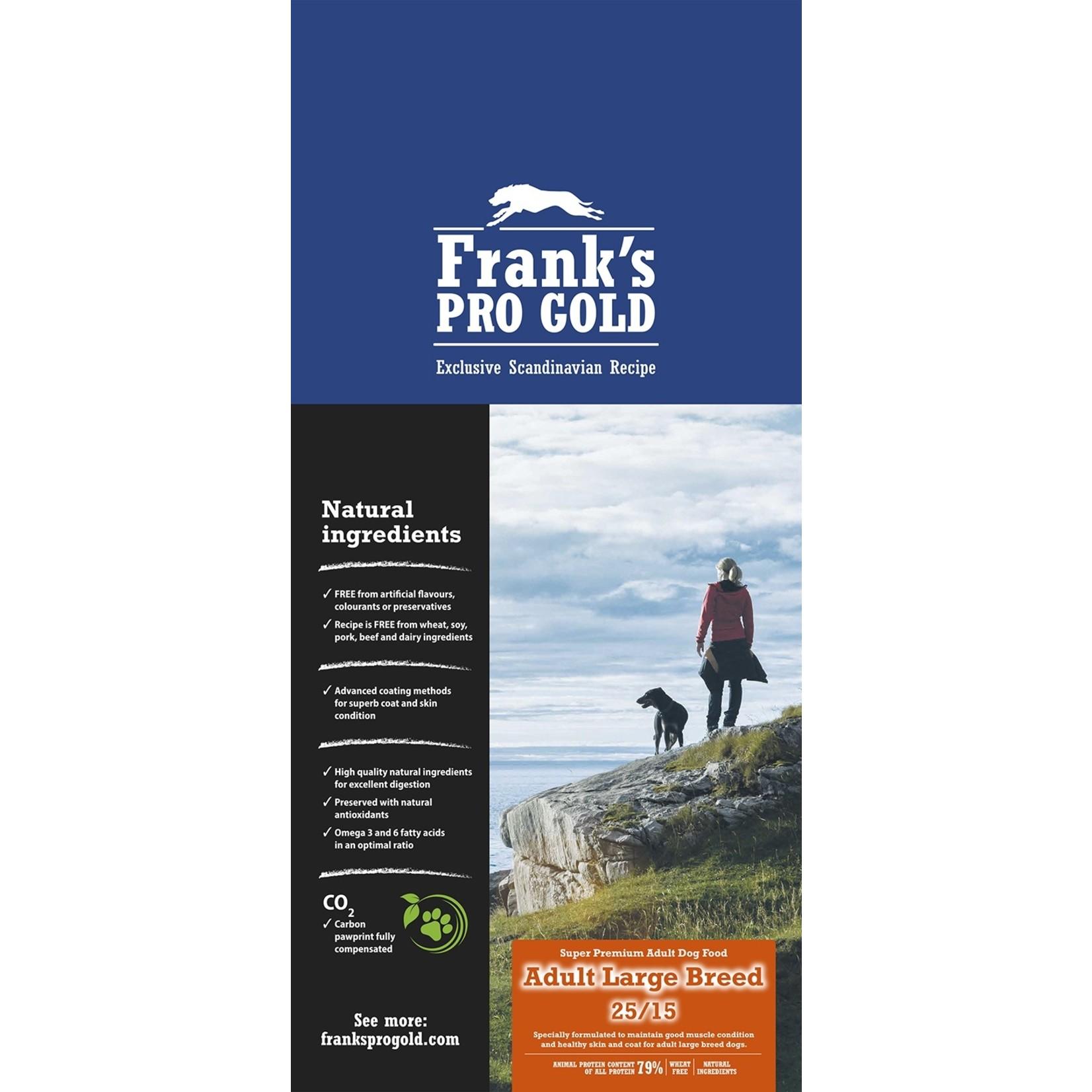Franks Pro Gold Franks Pro Gold Adult Large 15 kg
