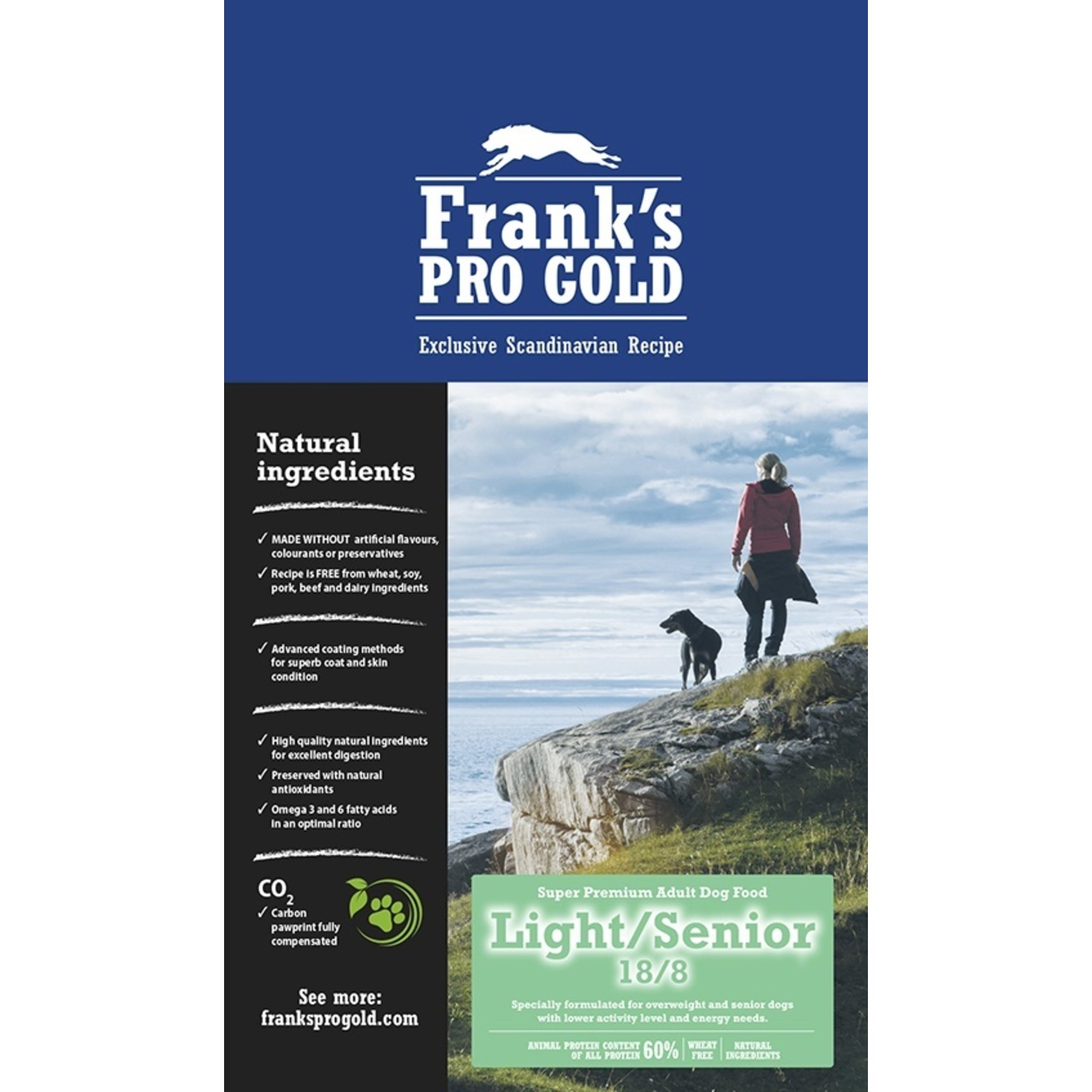 Franks Pro Gold Franks Pro Gold Senior/Light 15 kg. GEEN VERZENDKOSTEN