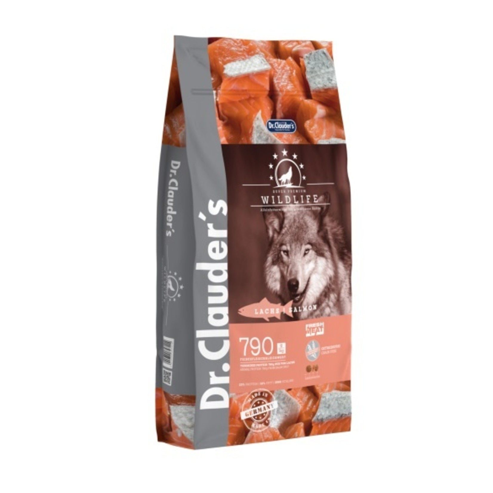 Dr. Clauders Wildlife Zalm All Breed 2 kg