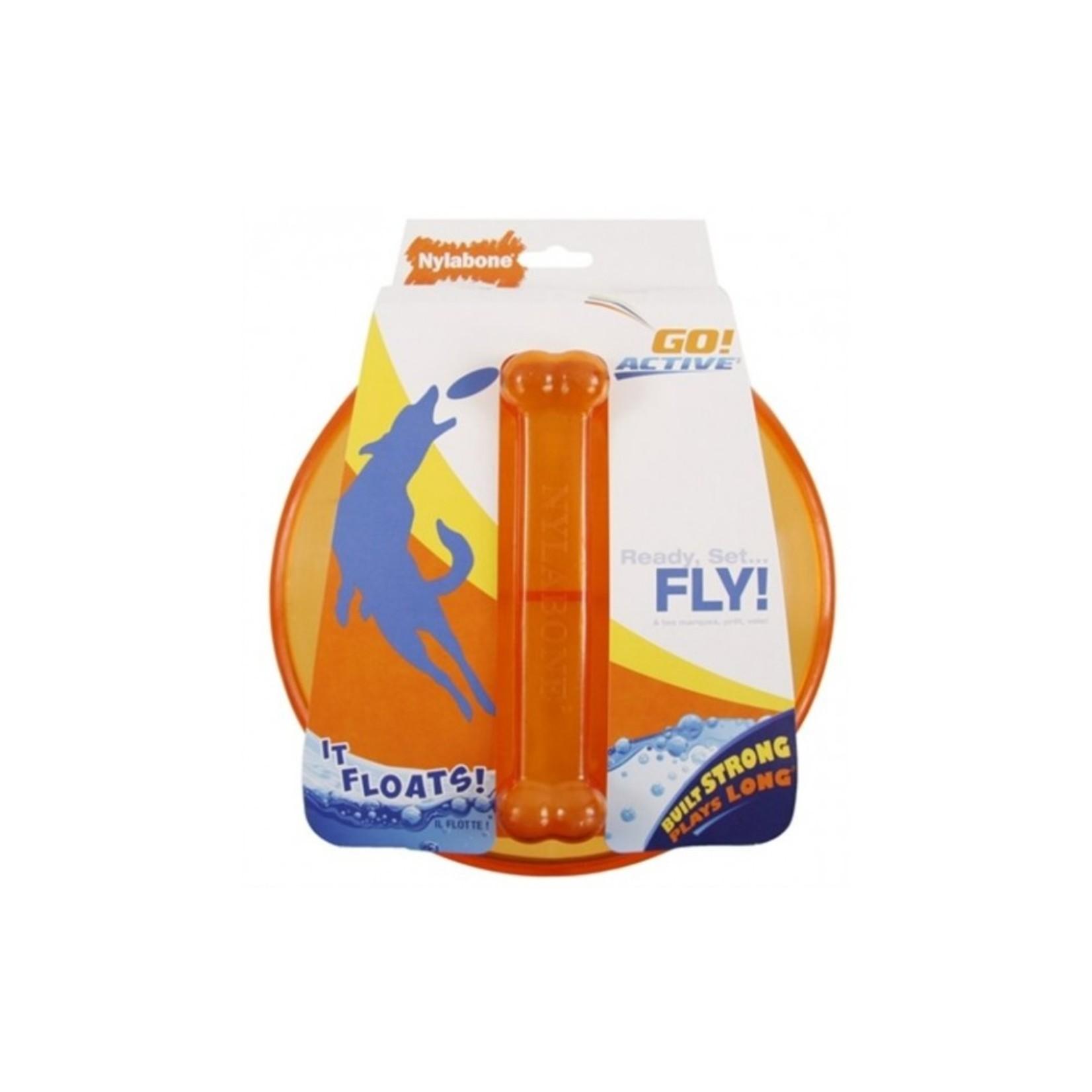 Nylabone Go Active Flying Disc. Frisbee