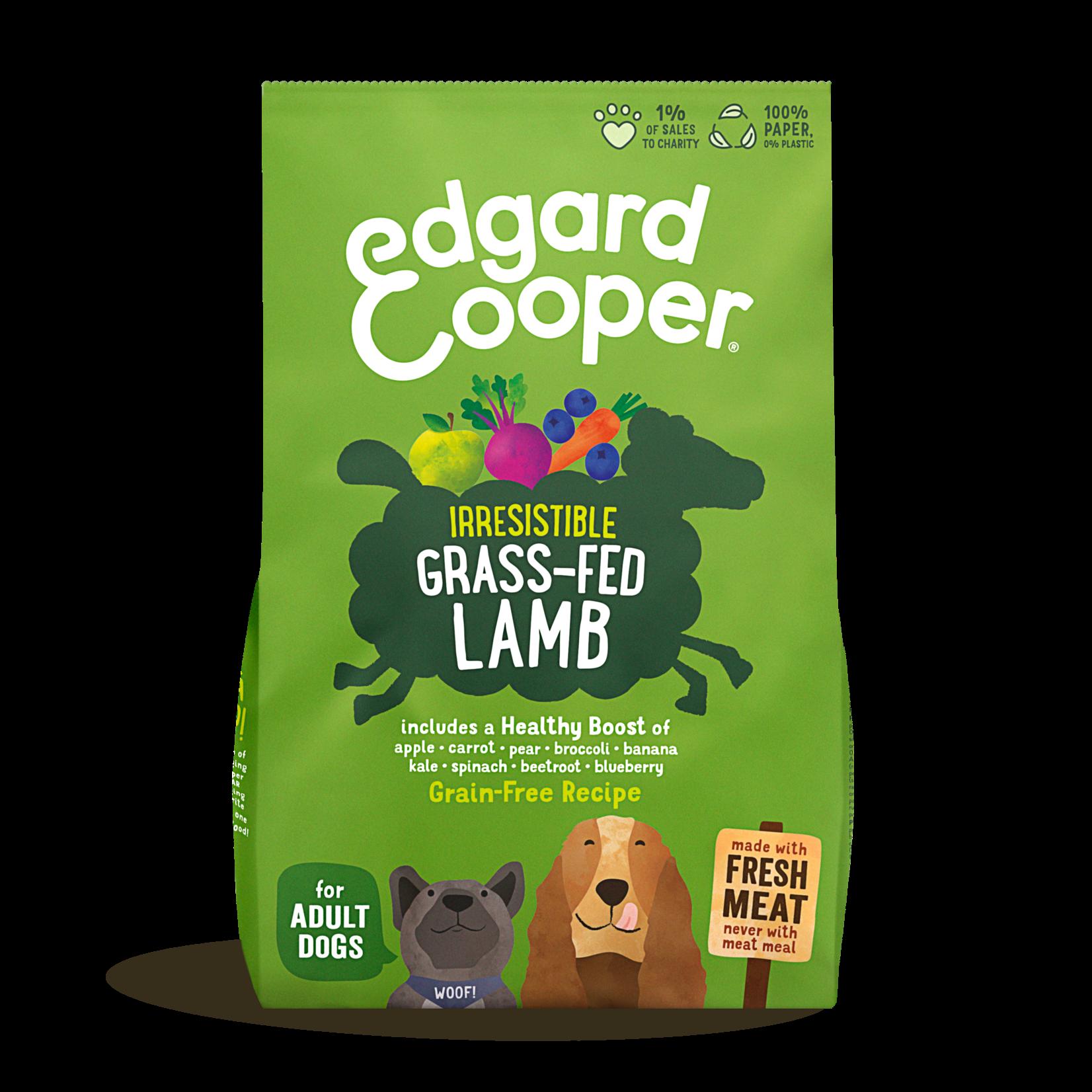 Edgard&Cooper Irresistible Grass-Fed Lamb Adult Lam&Appel&Wortel 2,5 kg