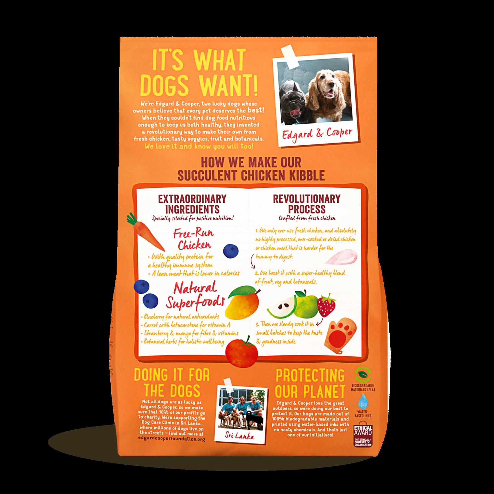 Edgard&Cooper Free-Run Chicken Adult Kip&Mango&Bessen 2,5 kg
