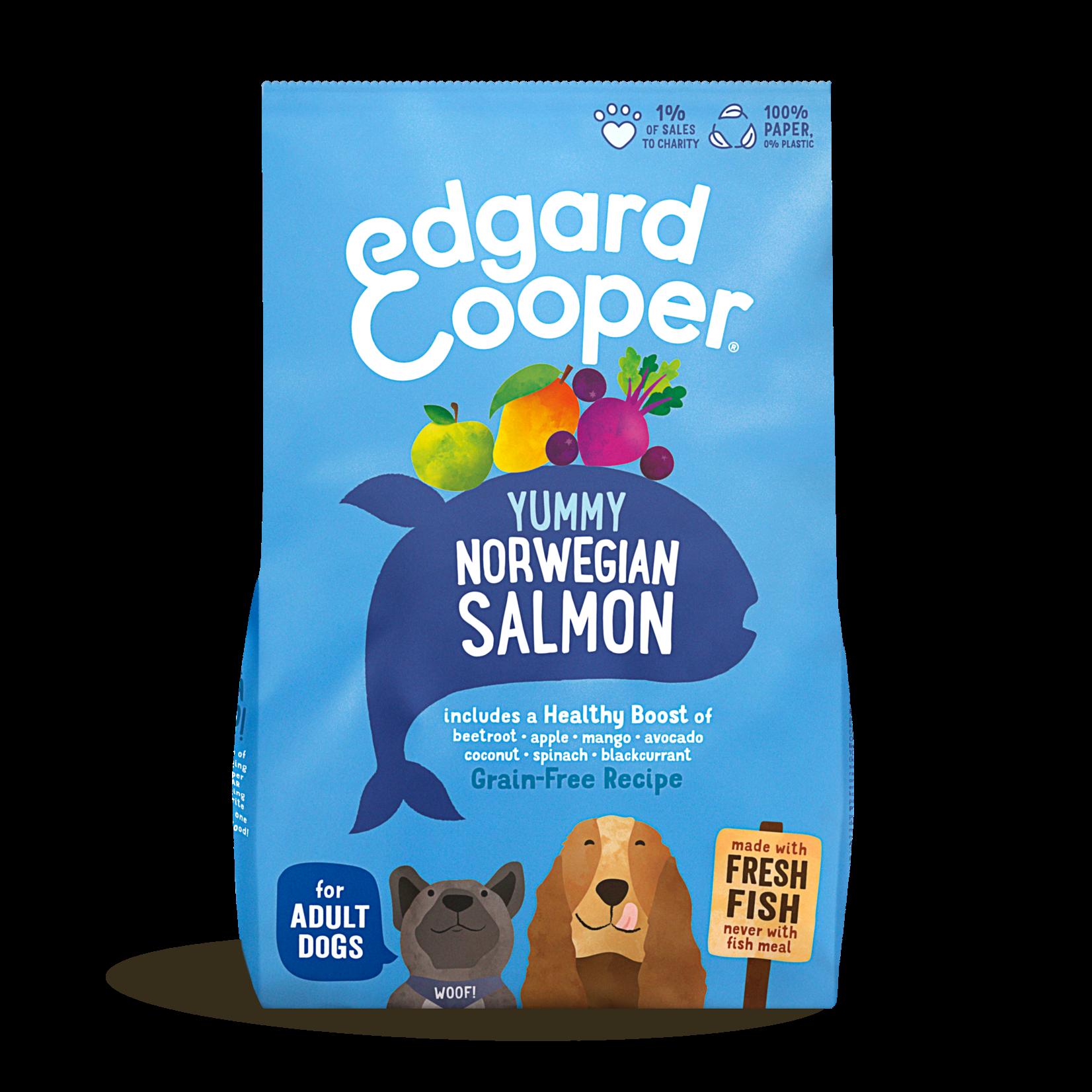 Edgard&Cooper Yummy Norwegian Salmon Adult Zalm&Rode Biet&Appel 2,5 kg