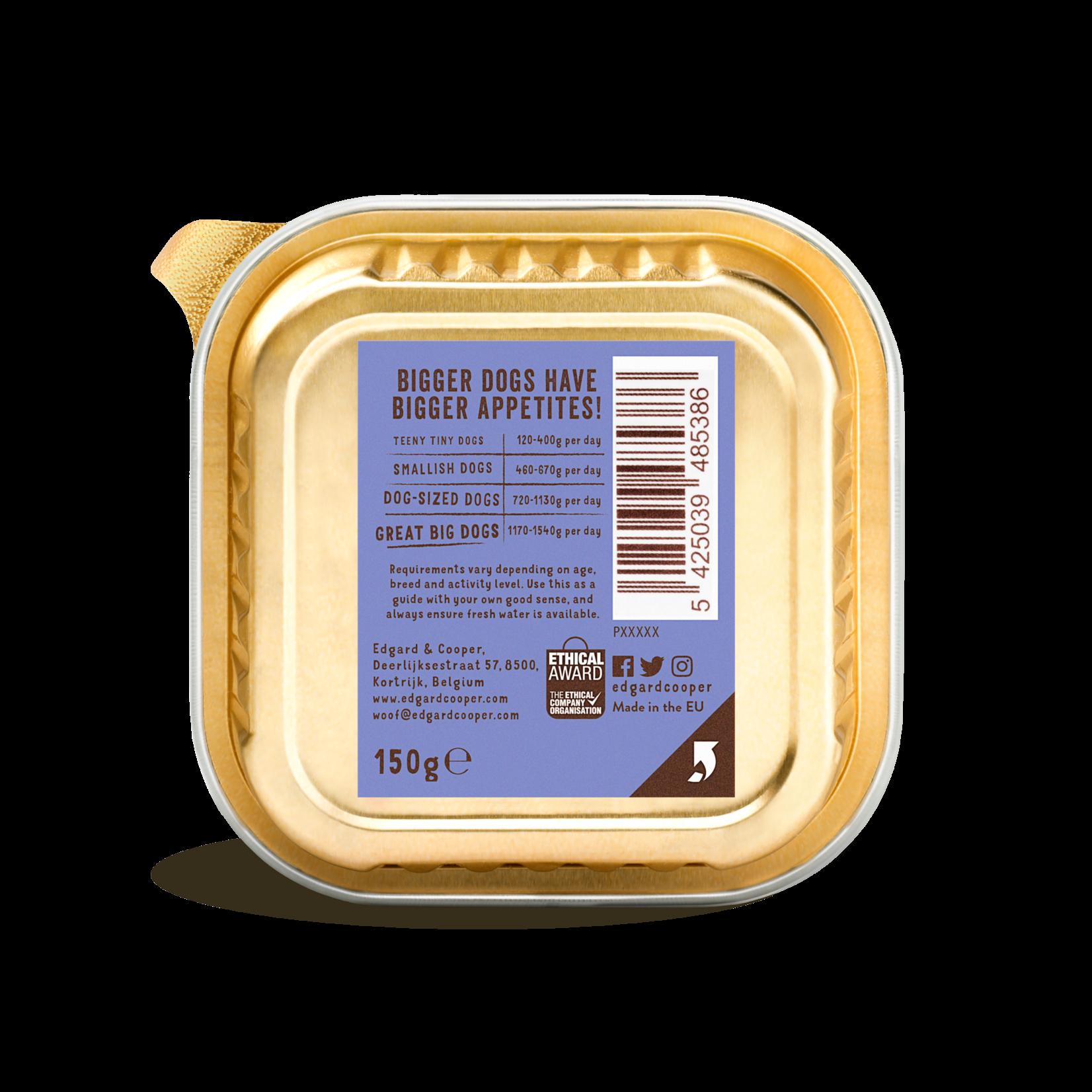 Edgard&Cooper Kuipje Adult Rund-Eend 150 gram Graanvrij