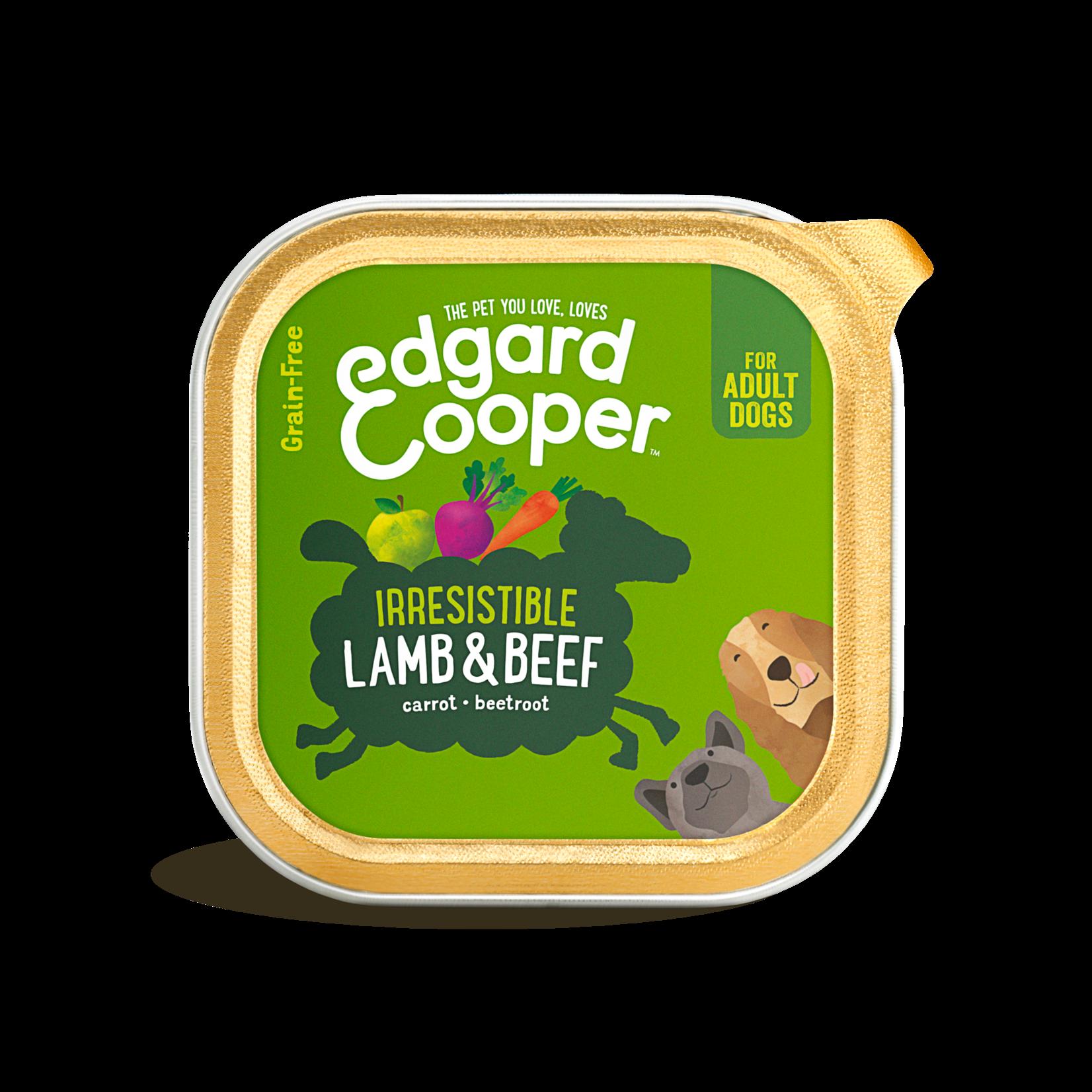 Edgard&Cooper Kuipje Adult lam-Rund 150 gram Graanvrij