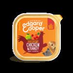 Edgard&Cooper Kuipje Adult Kip-Kalkoen 150 gram