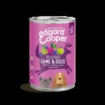 Edgard&Cooper Blik Adult Wild en Eend 400 gram