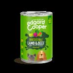 Edgard&Cooper Blik Adult Lam en Rund 400 gram
