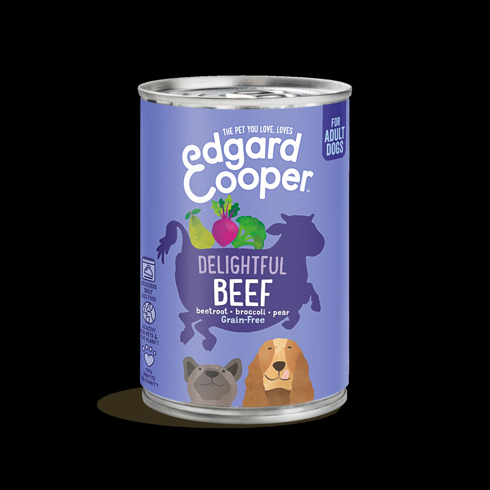 Edgard&Cooper Blik Adult Rund 400 gram Graanvrij