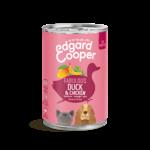 Edgard&Cooper Blik Puppy Eend en Kip 400 gram