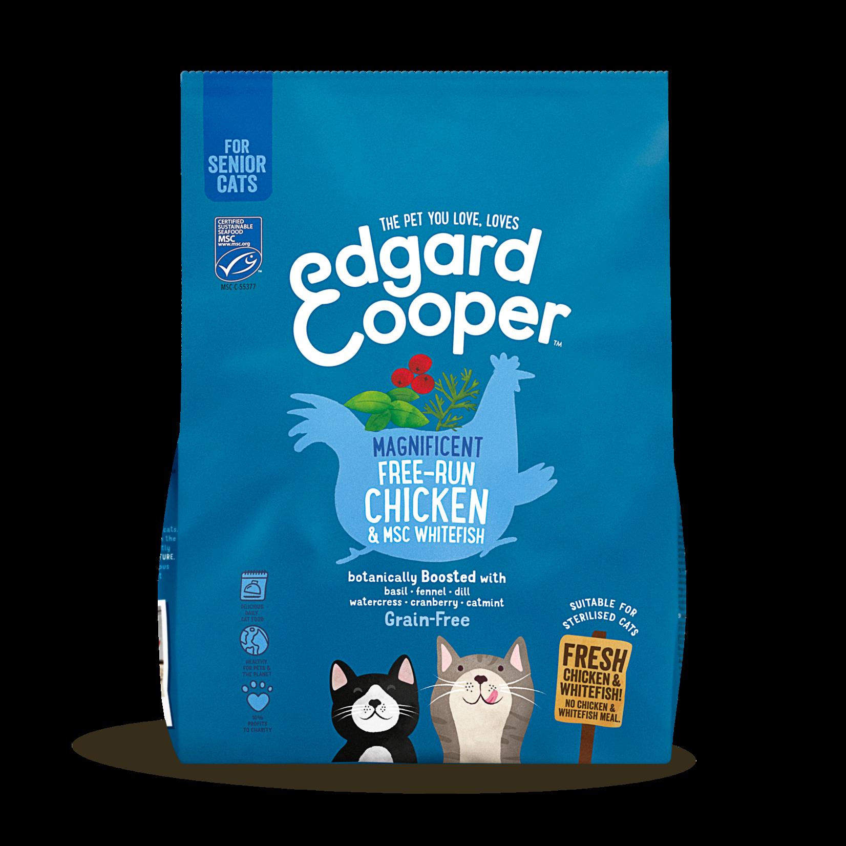Edgard&Cooper Senior Kip&Witvis. Kat 300 gram
